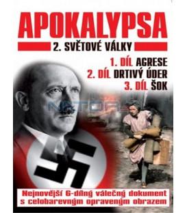 Apokalypsa 2. světové války 1.-3. díl  (Apocalypse la 2éme guerre mondiale) DVD