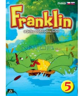 FRANKLIN A JEHO DOBRODRUŽSTVÍ 5  (FRANKLIN KIDS) DVD