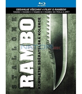 Rambo 1-4 (Kolekce 4BD) (Blu-Ray)