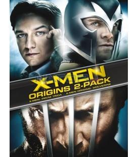 Kolekce: X-Men Origins: Wolverine + První třída 2 DVD