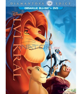 Lví král DE (Blu-ray + DVD) Combo Pack   (Lion King DE BD)