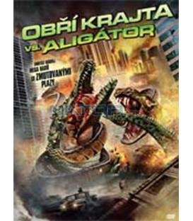 Obří krajta vs. Aligátor (Mega Python vs. Gatoroid) – SLIM BOX DVD