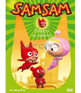 SamSam - Ztraceni ve vesmíru  (SamSam) DVD