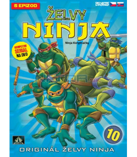 ŽELVY NINJA: 10 (TEENAGE MUTANT NINJA TURTLES) DVD