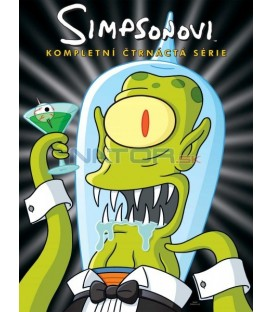 Simpsonovi  14.sezóna, 4 DVD, 22 dílů  (The Simpsons S14) 2002-2003