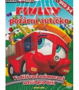 FINLEY požární autíčko - DVD 3 - 4 (FINLEY, the Fire Engine) 2XDVD