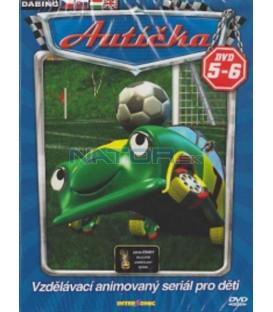 Autíčka DVD 5 - 6 (Auto B-Good) 2XDVD