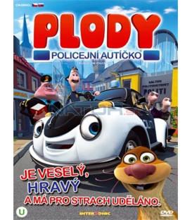 Plody - Policejní autíčko (Pelle Politibil går i vannet / Ploddy - The Police Car) DVD)
