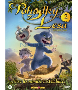 Pohádky z lesa 2 (Espiritu del bosque / Spirit Of The Forest) DVD
