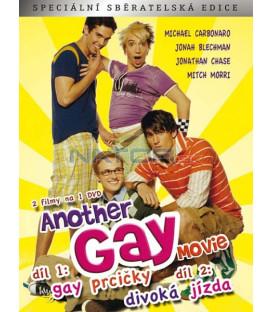 Another Gay Movie: 1 - Gay Prcičky + 2 - Divoká jízda DVD