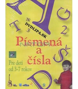 Pismená a čísla pre deti od 3-7 rokov DVD