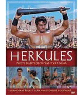 Herkules proti babylonským tyranům DVD (Ercole contro i tiranni di Babilonia)