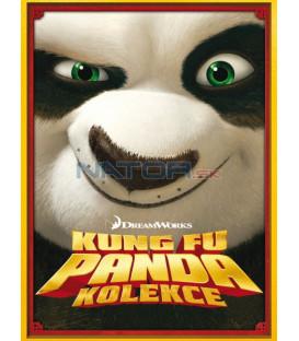 Kung Fu Panda kolekce 1+2. 2DVD