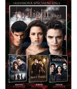 Twilight sága kolekce 3DVD   Twilight