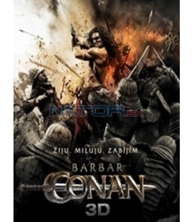 Barbar Conan 2011 (Conan the Barbarian) (3D + 2D Blu-ray)