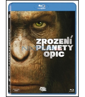 Zrození Planety opic 2011 ( Rise of the Planet of the Apes) Blu-ray