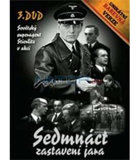 Sedmnáct zastavení jara – 3. DVD – SLIM BOX - UNIKÁTNÍ BAREVNÁ VERZE