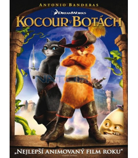 Kocour v botách (Puss in Boots) 2011 DVD