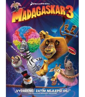 Madagaskar 3  (Madagascar 3: Europes Most Wanted) DVD