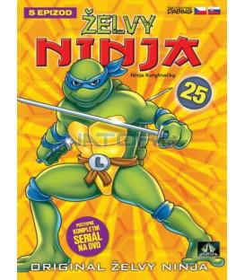 ŽELVY NINJA 25   (Teenage Mutant Ninja Turtles) DVD