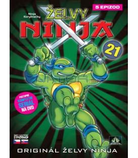ŽELVY NINJA 21   (Teenage Mutant Ninja Turtles)  DVD