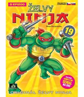 ŽELVY NINJA 19   (Teenage Mutant Ninja Turtles) DVD