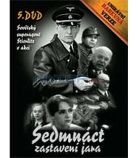 Sedmnáct zastavení jara – 5. DVD – SLIM BOX - UNIKÁTNÍ BAREVNÁ VERZE