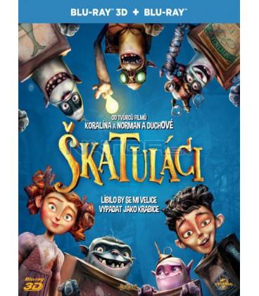 Škatuláci (The Boxtrolls) Blu-ray 3D + 2D