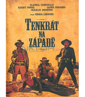 Tenkrát na Západě (Once Upon a Time in the West) DVD - CZ DABING !!