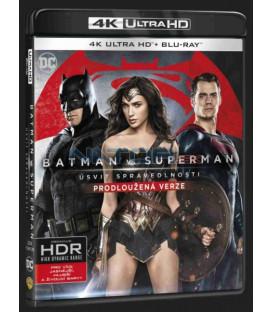 Batman vs. Superman: Úsvit spravedlnosti (Batman v Superman: Dawn of Justice) UHD+BD - 2 x Blu-ray prodloužená verze
