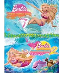 2 DVD Barbie - Příběh mořské panny 1+2 / Barbie In A Mermaids Tale 1 & 2