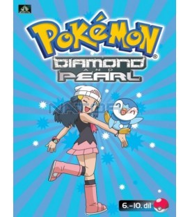 Pokémon Diamond and Pearl 6.-10.díl (DVD 2)
