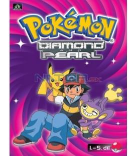 Pokémon Diamond and Pearl 1.-5.díl (DVD 1)