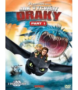 JAK VYCVIČIT DRAKY - 1. ČÁST (Dragons: Riders of Berk) - 2 DVD