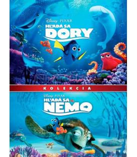 Hledá se Nemo + Hledá se Dory (Finding Dory + Finding Nemo) kolekce 2DVD DVD