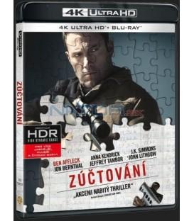 Zúčtování (The Accountant) 2016 Blu-ray UHD+BD - 2 x Blu-ray