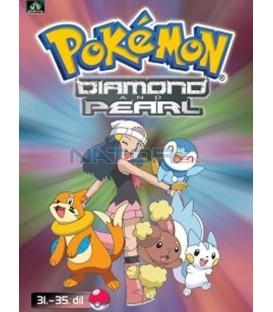 Pokémon Diamond and Pearl 31.-35.díl (DVD 7)