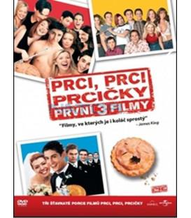 3 DVD Prci, prci, prcičky – První tři filmy (American Pie 1-3)