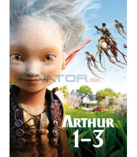 Arthur 1-3. 3DVD  (Arthur 1-3)  SK/CZ dabing