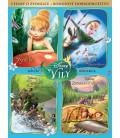 Zvonilka kolekce 4DVD  (Tinker Bell 4 Pack)