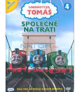 Lokomotiva Tomáš 4: Společně na trati DVD