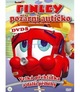 Finley požární autíčko 8 (Finley the Fire Engine) DVD
