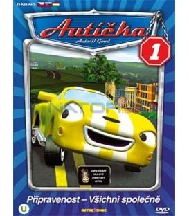 Autíčka 1 (Auto B-Good 1) DVD