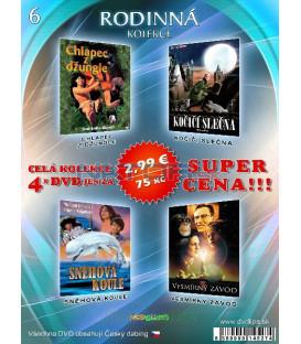 Rodinna kolekcia 6 - / 4 DVD /