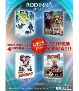 Rodinna kolekcia 2 - / 4 DVD /