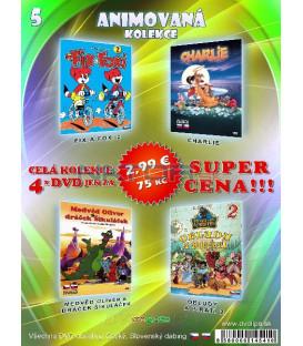 Animovana kolekcia 5 - / 4 DVD /