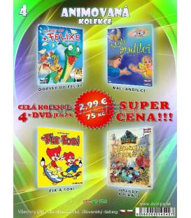 Animovana kolekcia 4 - / 4 DVD /