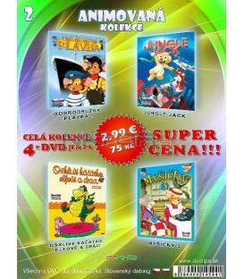 Animovana kolekcia 2 - / 4 DVD /
