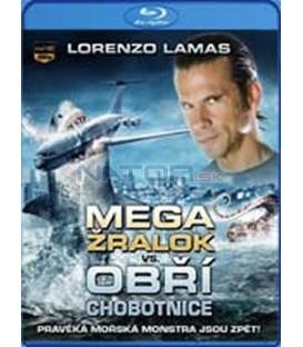 Megažralok vs. Obří chobotnice (Mega Shark vs. Giant Octopus) – Blu-ray