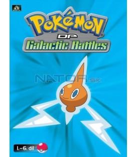Pokémon (XII): DP Galactic Battles 1.-6.díl (DVD 1)